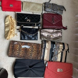 Handbags - Lot of (12) women's purses